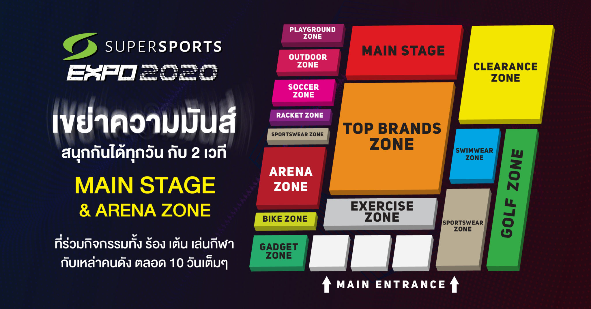 SUPERSPORTS EXPO 2020