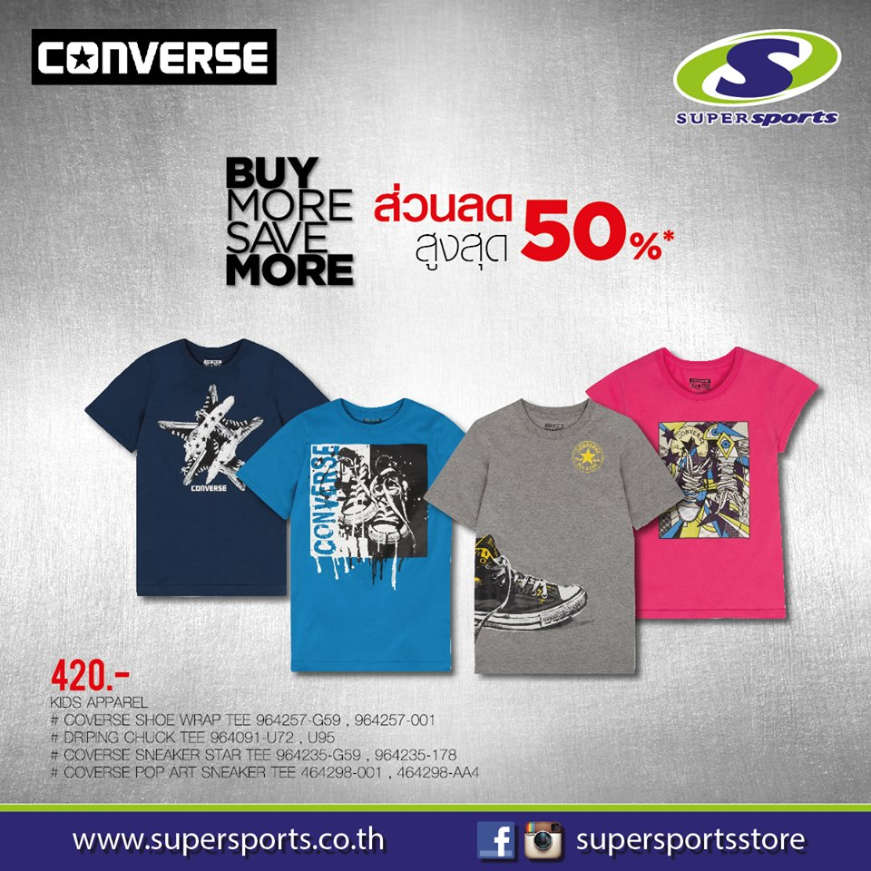 f8221e95b1e9 Converse Kids Apparel   Sports Fashion (11 February - 6 March 2016 ...