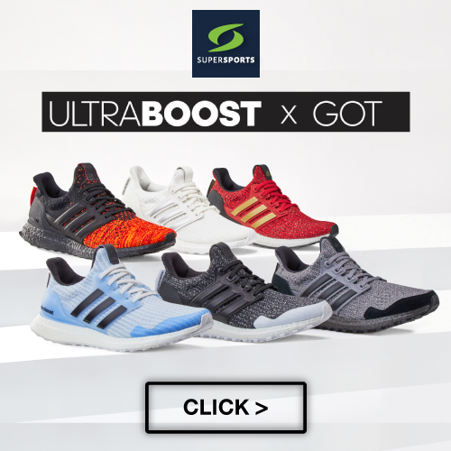 ADIDAS ULTRABOOST x GAME OF THRONES at SUPERSPORTS