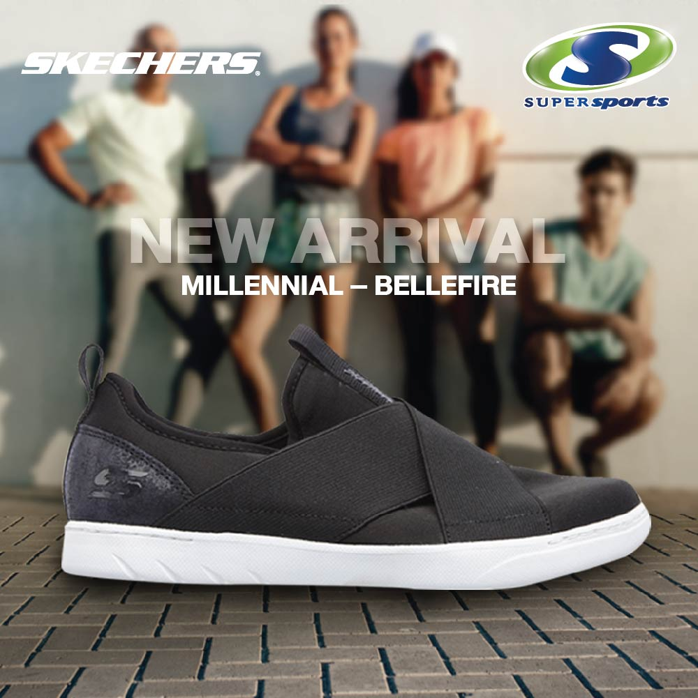 Skechers Millennial – Bellefire at Supersports 299ae986e4a